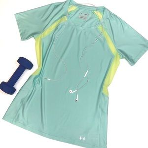 Under Armour Fitted Top Tee Shirt T-shirt
